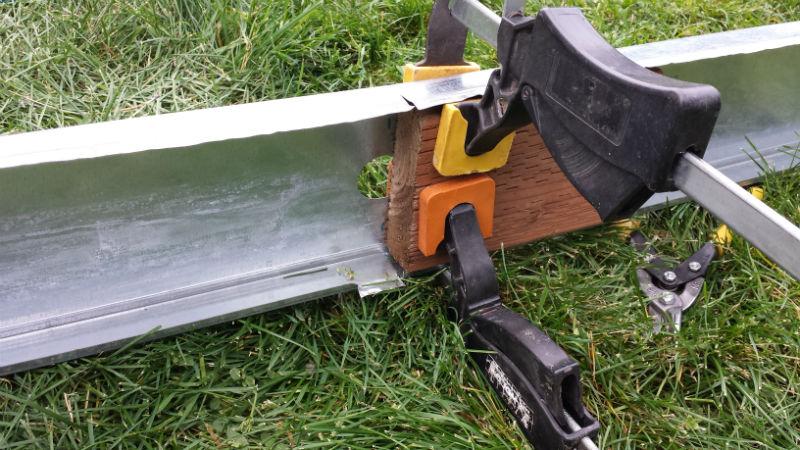 Solar Pop Can Heater Frame