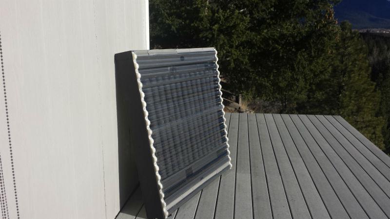 Solar Pop Can Heater